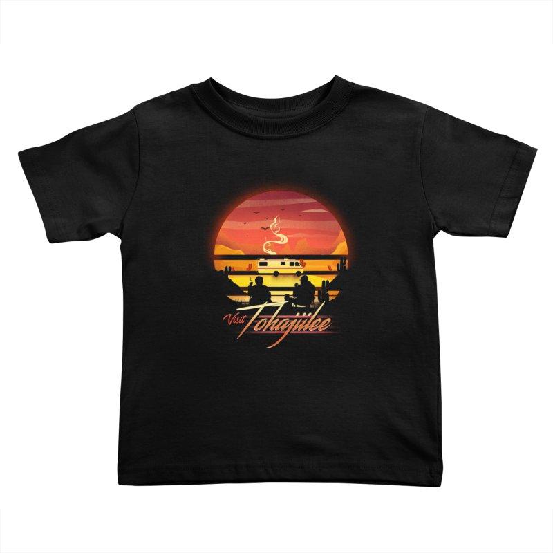 Visit Tohajiilee Kids Toddler T-Shirt by dandingeroz's Artist Shop