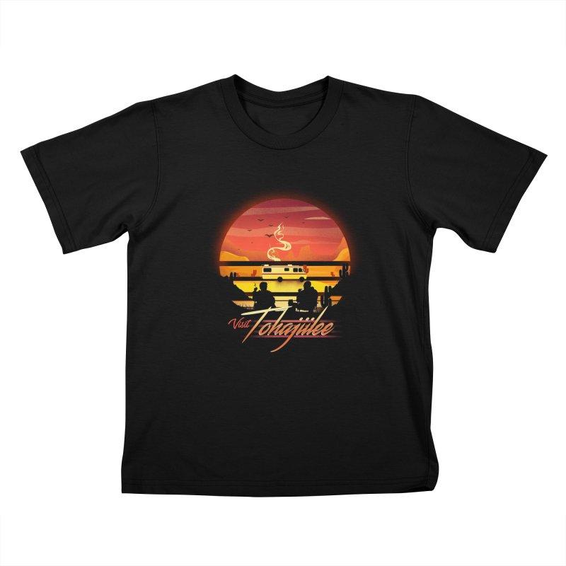 Visit Tohajiilee Kids T-Shirt by dandingeroz's Artist Shop