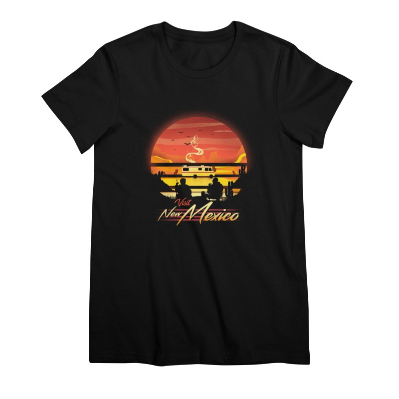 Visit New Mexico Women's Premium T-Shirt by dandingeroz's Artist Shop