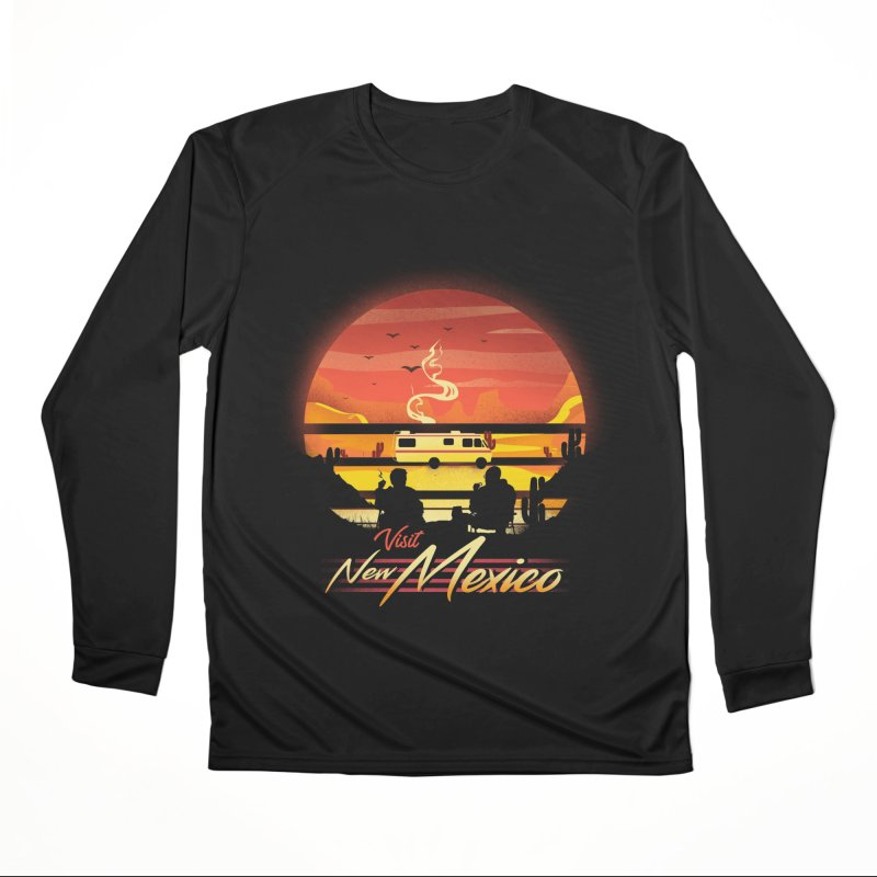 Visit New Mexico Men's Performance Longsleeve T-Shirt by dandingeroz's Artist Shop