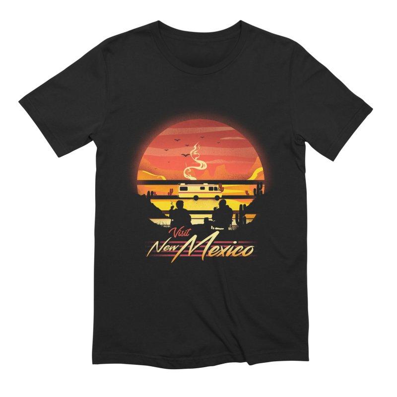 Visit New Mexico Men's Extra Soft T-Shirt by dandingeroz's Artist Shop