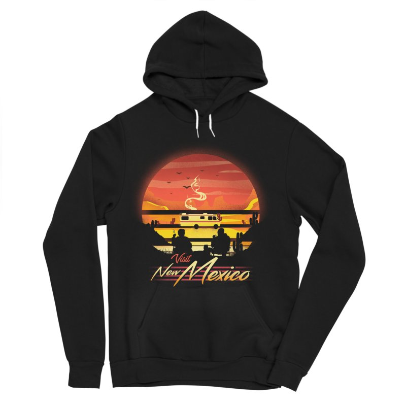 Visit New Mexico Women's Pullover Hoody by dandingeroz's Artist Shop