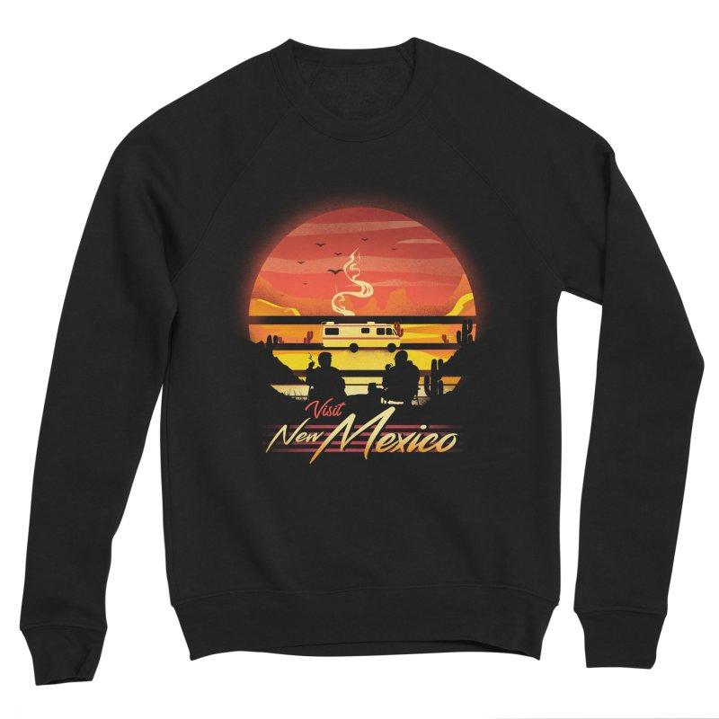 Visit New Mexico Women's Sponge Fleece Sweatshirt by dandingeroz's Artist Shop