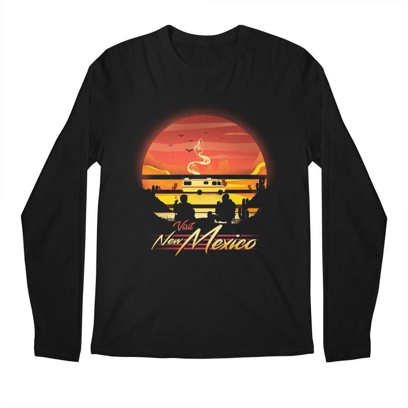 Visit New Mexico Men's Regular Longsleeve T-Shirt by dandingeroz's Artist Shop