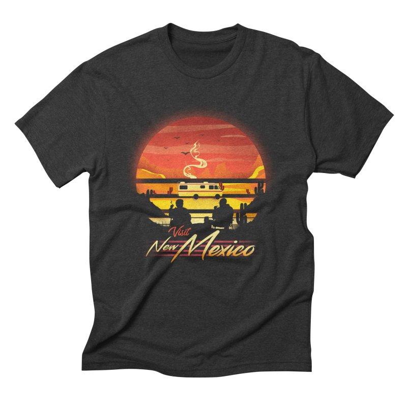 Visit New Mexico Men's Triblend T-Shirt by dandingeroz's Artist Shop