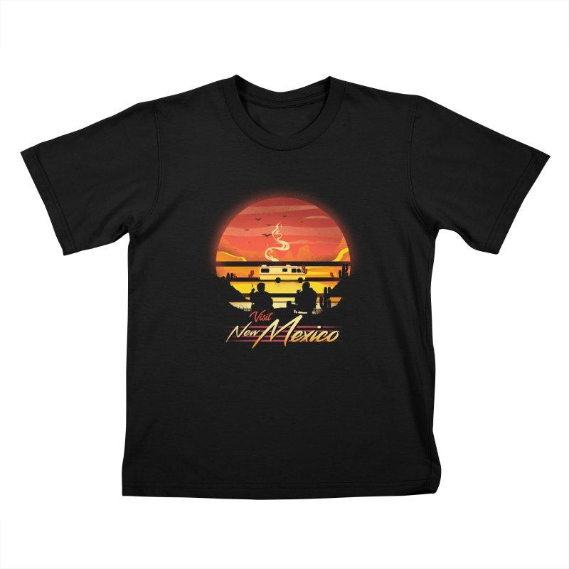 Visit New Mexico Kids T-Shirt by dandingeroz's Artist Shop