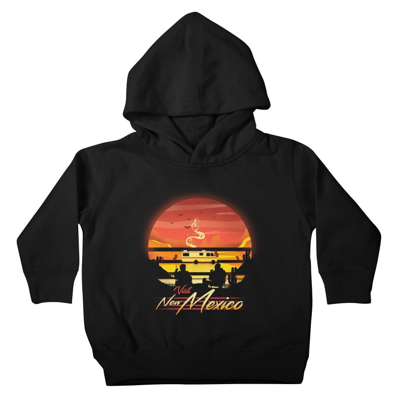 Visit New Mexico Kids Toddler Pullover Hoody by dandingeroz's Artist Shop