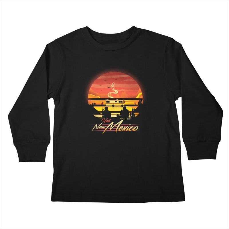 Visit New Mexico Kids Longsleeve T-Shirt by dandingeroz's Artist Shop