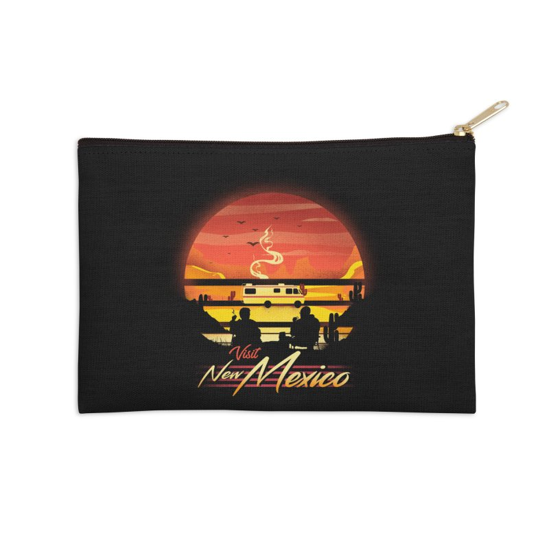 Visit New Mexico Accessories Zip Pouch by dandingeroz's Artist Shop