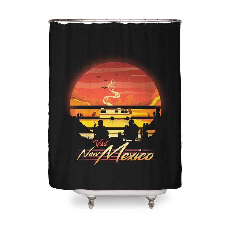 Visit New Mexico Home Shower Curtain by dandingeroz's Artist Shop