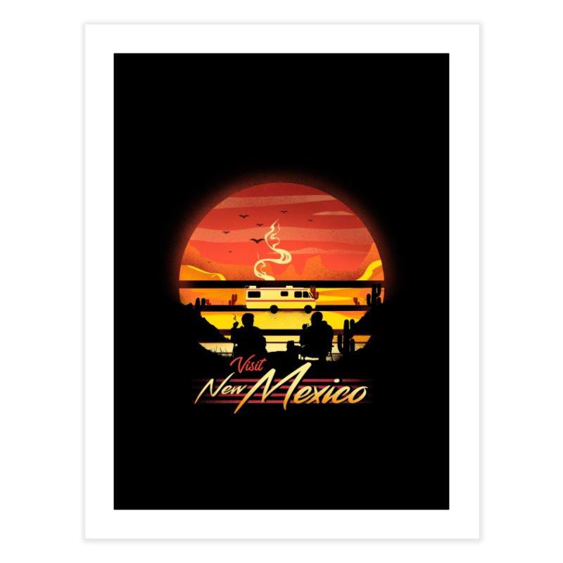 Visit New Mexico Home Fine Art Print by dandingeroz's Artist Shop