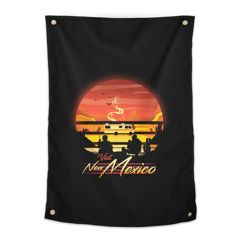 Visit New Mexico Home Tapestry by dandingeroz's Artist Shop