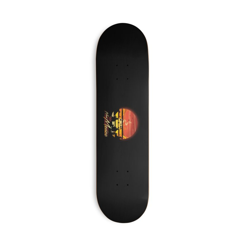 Visit New Mexico Accessories Deck Only Skateboard by dandingeroz's Artist Shop