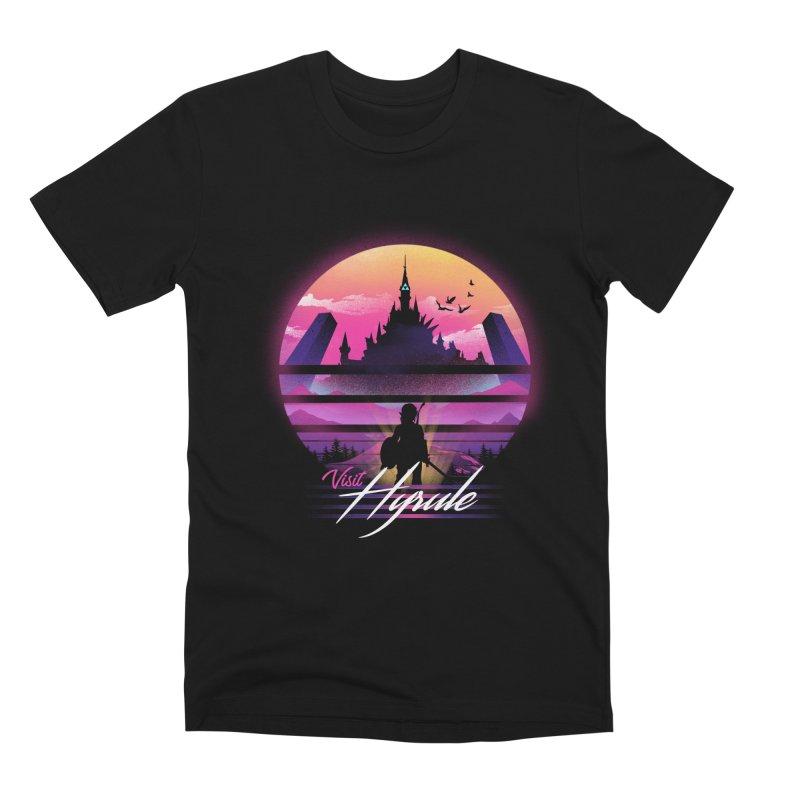 Visit Hyrule Men's Premium T-Shirt by dandingeroz's Artist Shop