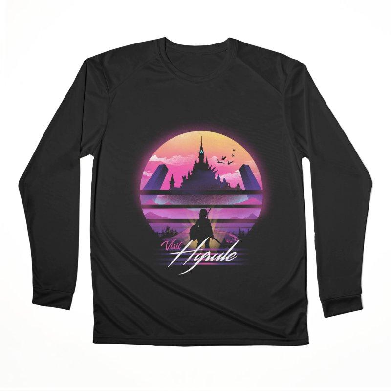 Visit Hyrule Women's Performance Unisex Longsleeve T-Shirt by dandingeroz's Artist Shop