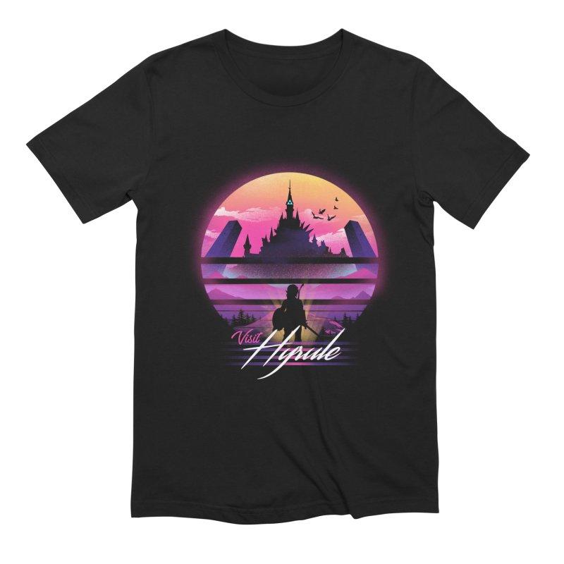 Visit Hyrule Men's Extra Soft T-Shirt by dandingeroz's Artist Shop