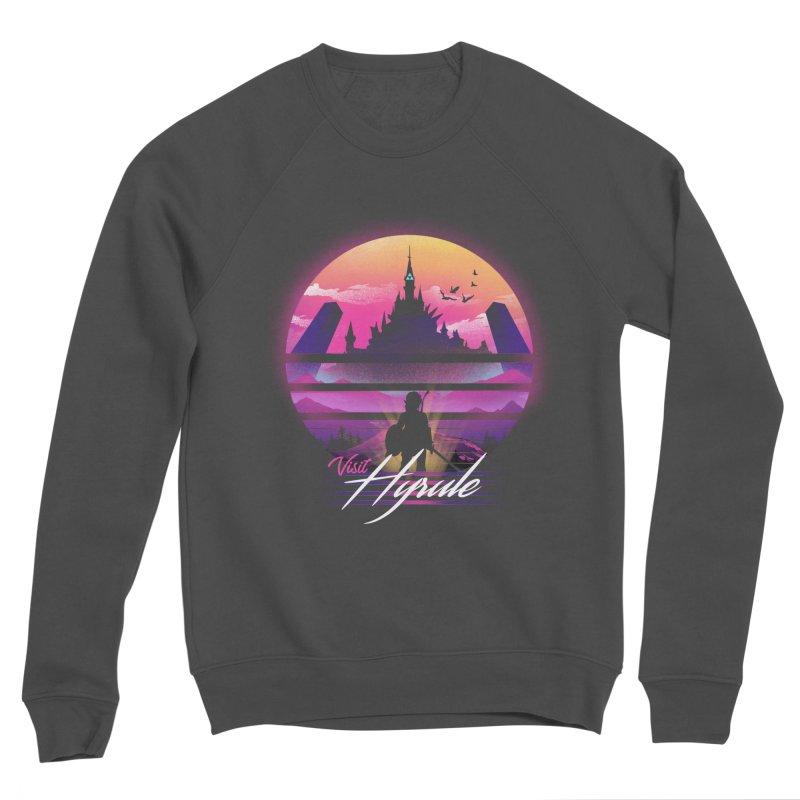Visit Hyrule Women's Sponge Fleece Sweatshirt by dandingeroz's Artist Shop
