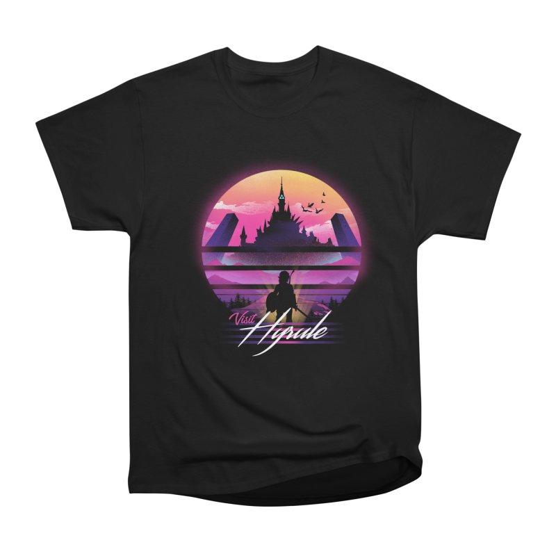 Visit Hyrule Men's Heavyweight T-Shirt by dandingeroz's Artist Shop