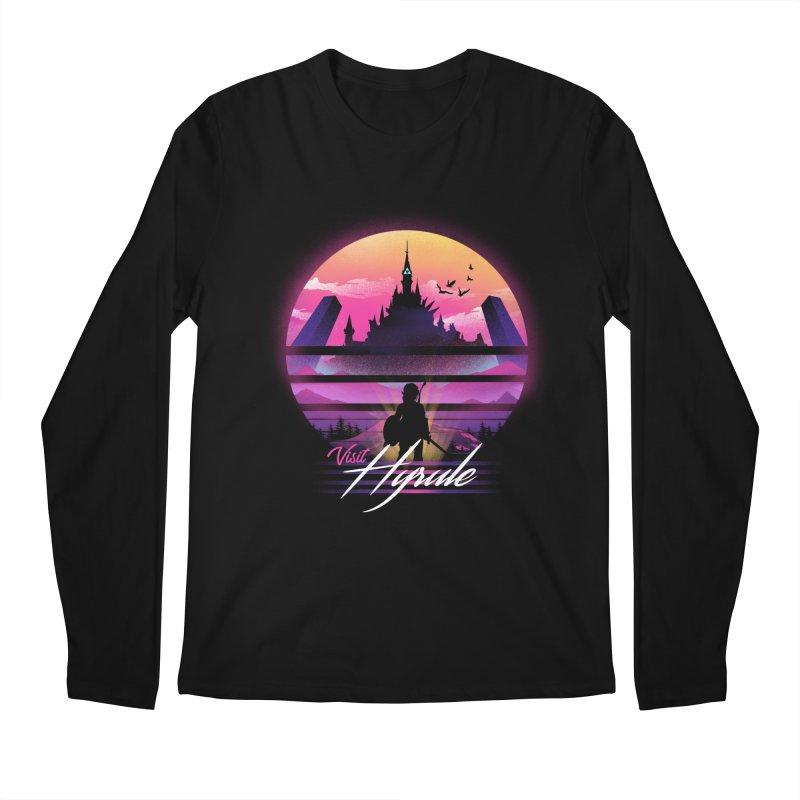 Visit Hyrule Men's Regular Longsleeve T-Shirt by dandingeroz's Artist Shop