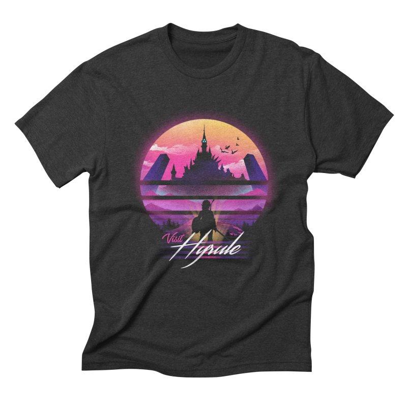 Visit Hyrule Men's Triblend T-Shirt by dandingeroz's Artist Shop