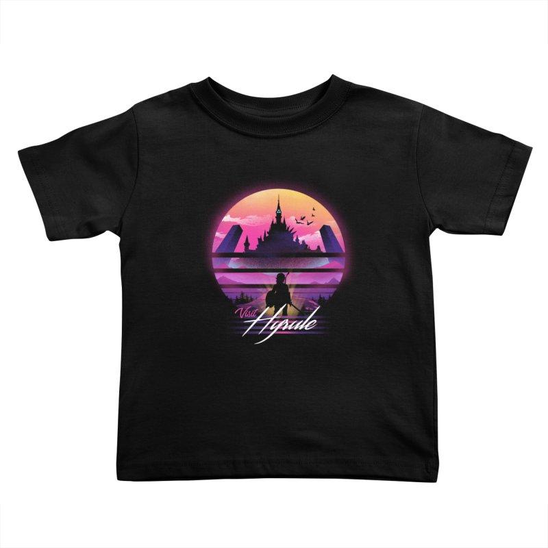 Visit Hyrule Kids Toddler T-Shirt by dandingeroz's Artist Shop
