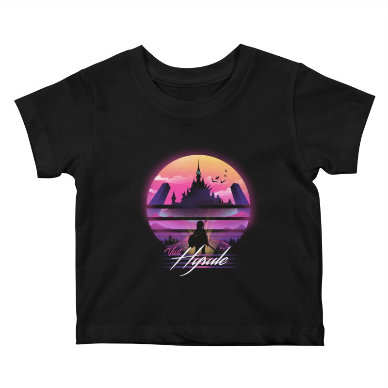 Visit Hyrule Kids Baby T-Shirt by dandingeroz's Artist Shop