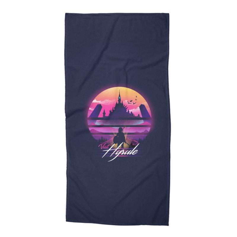 Visit Hyrule Accessories Beach Towel by dandingeroz's Artist Shop