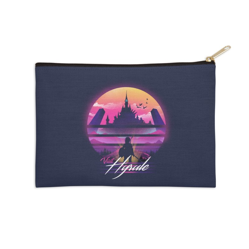 Visit Hyrule Accessories Zip Pouch by dandingeroz's Artist Shop