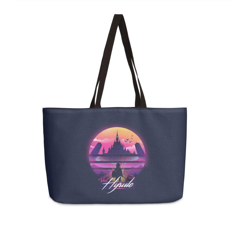 Visit Hyrule Accessories Weekender Bag Bag by dandingeroz's Artist Shop