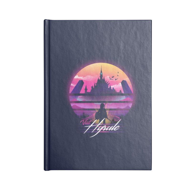 Visit Hyrule Accessories Lined Journal Notebook by dandingeroz's Artist Shop