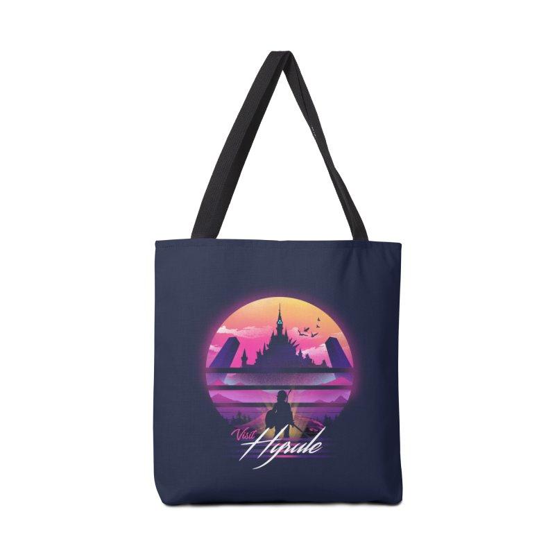 Visit Hyrule Accessories Tote Bag Bag by dandingeroz's Artist Shop