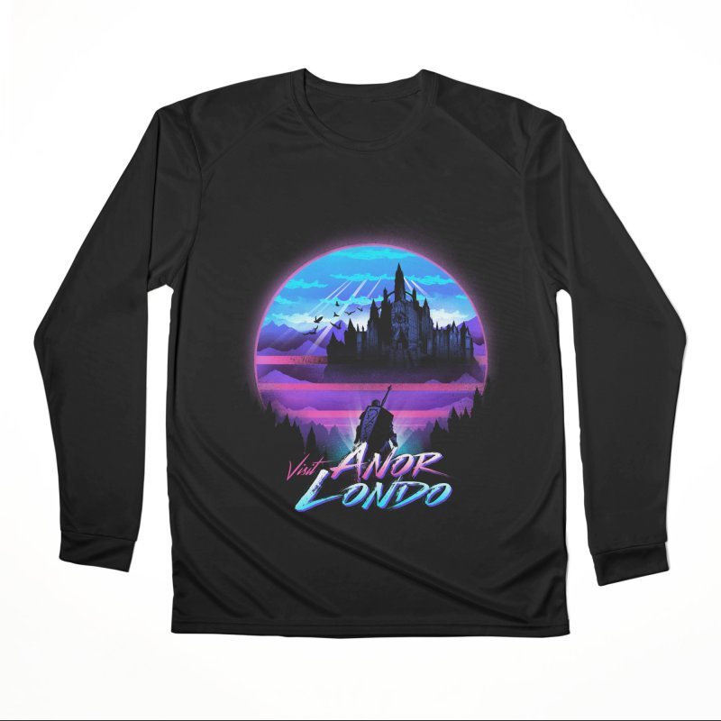 Visit Anor Londo Men's Performance Longsleeve T-Shirt by dandingeroz's Artist Shop