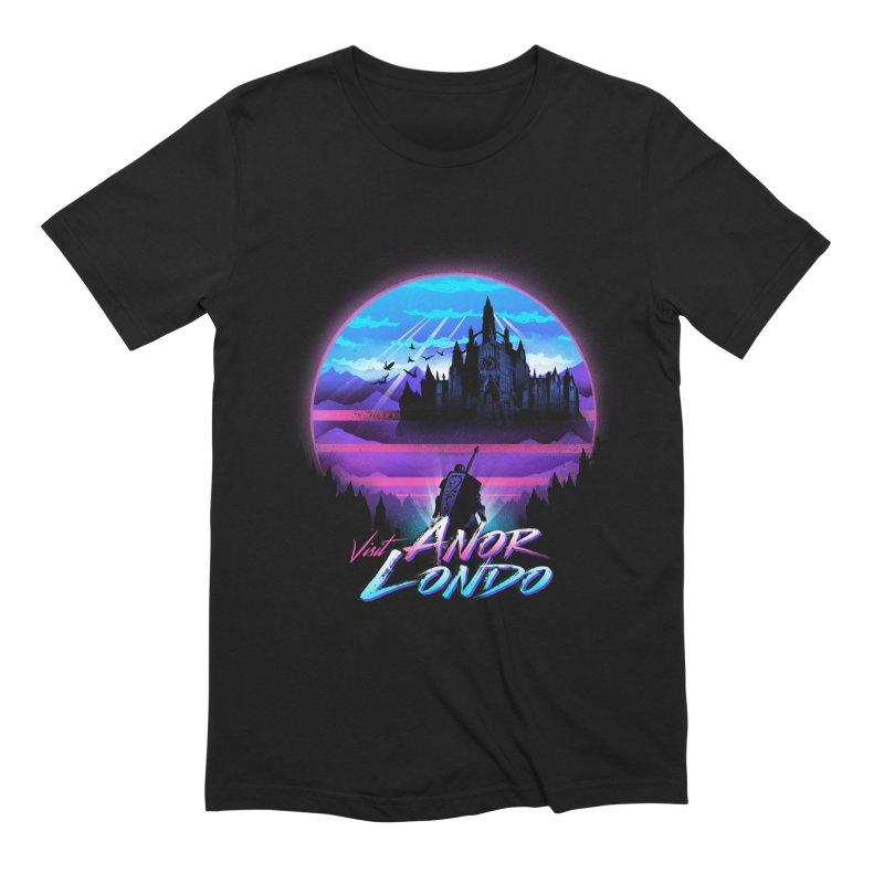 Visit Anor Londo Men's Extra Soft T-Shirt by dandingeroz's Artist Shop