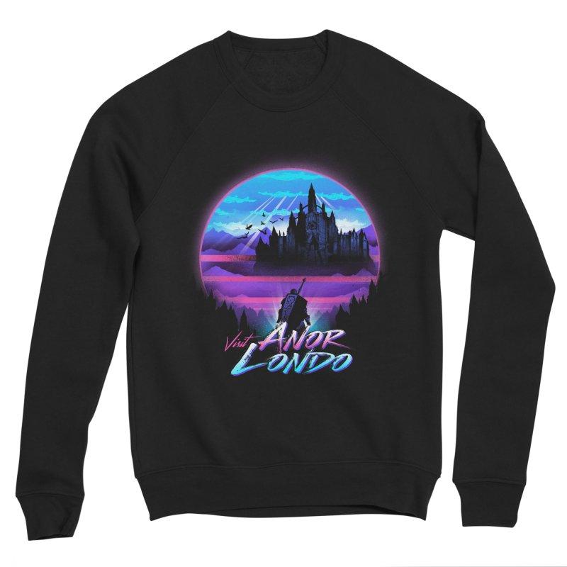 Visit Anor Londo Men's Sponge Fleece Sweatshirt by dandingeroz's Artist Shop