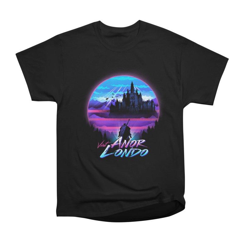 Visit Anor Londo Men's Heavyweight T-Shirt by dandingeroz's Artist Shop