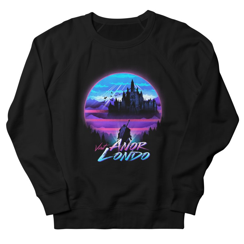 Visit Anor Londo Men's French Terry Sweatshirt by dandingeroz's Artist Shop