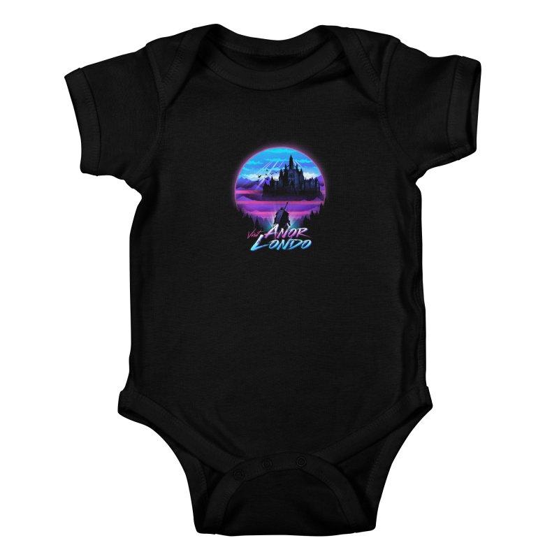 Visit Anor Londo Kids Baby Bodysuit by dandingeroz's Artist Shop