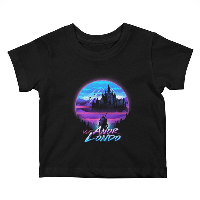 Visit Anor Londo Kids Baby T-Shirt by dandingeroz's Artist Shop