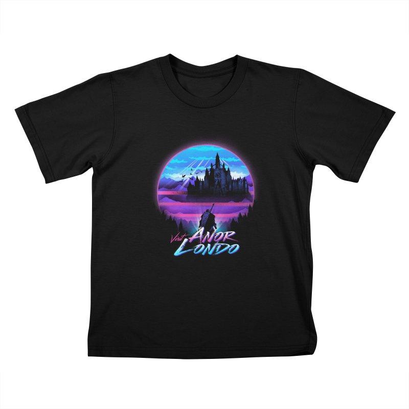 Visit Anor Londo Kids T-Shirt by dandingeroz's Artist Shop