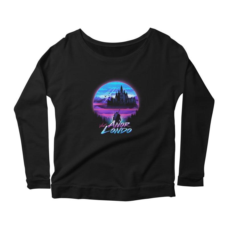 Visit Anor Londo Women's Scoop Neck Longsleeve T-Shirt by dandingeroz's Artist Shop