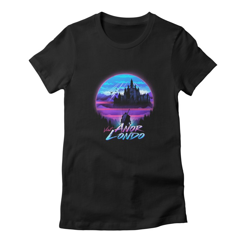 Visit Anor Londo Women's Fitted T-Shirt by dandingeroz's Artist Shop