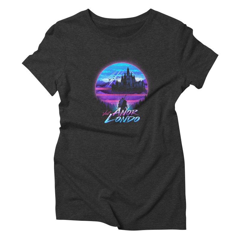 Visit Anor Londo Women's Triblend T-Shirt by dandingeroz's Artist Shop