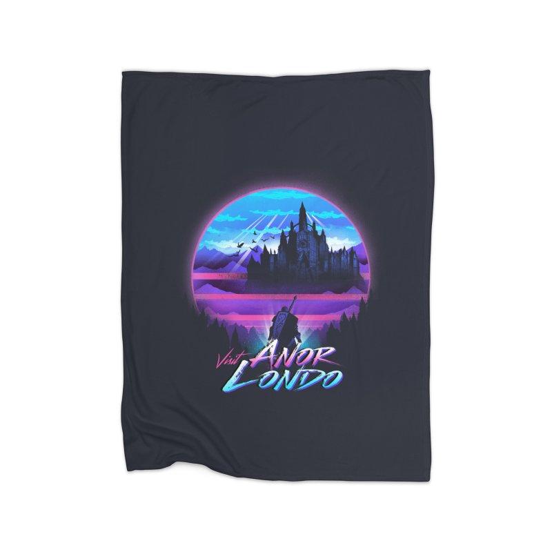 Visit Anor Londo Home Fleece Blanket Blanket by dandingeroz's Artist Shop