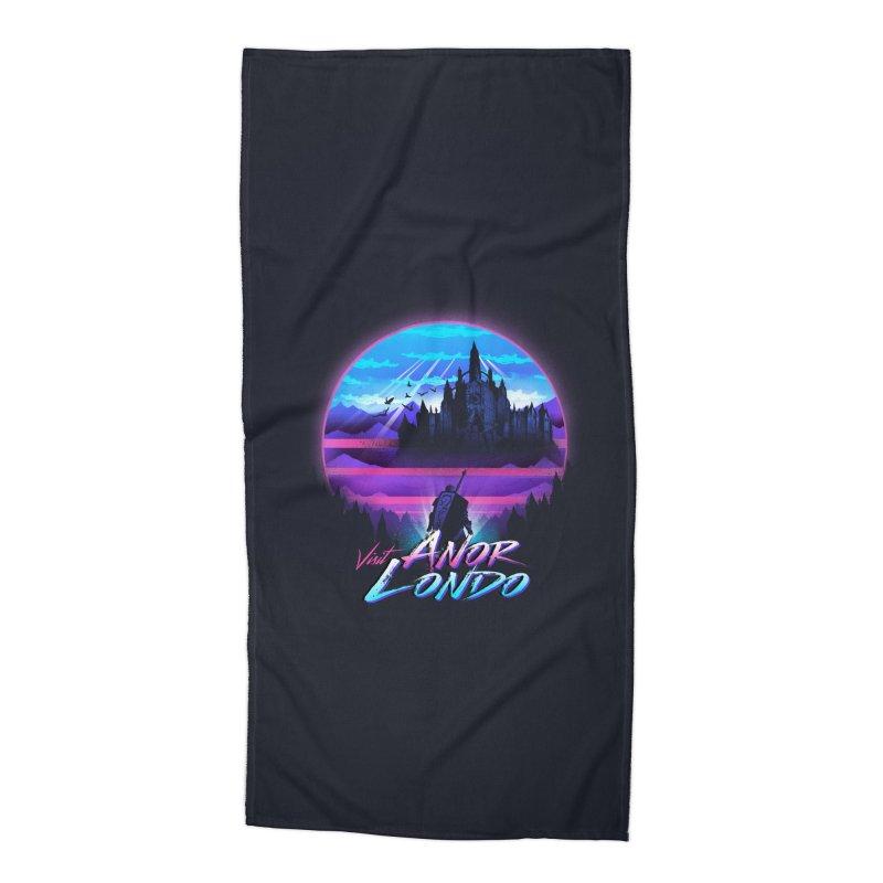 Visit Anor Londo Accessories Beach Towel by dandingeroz's Artist Shop