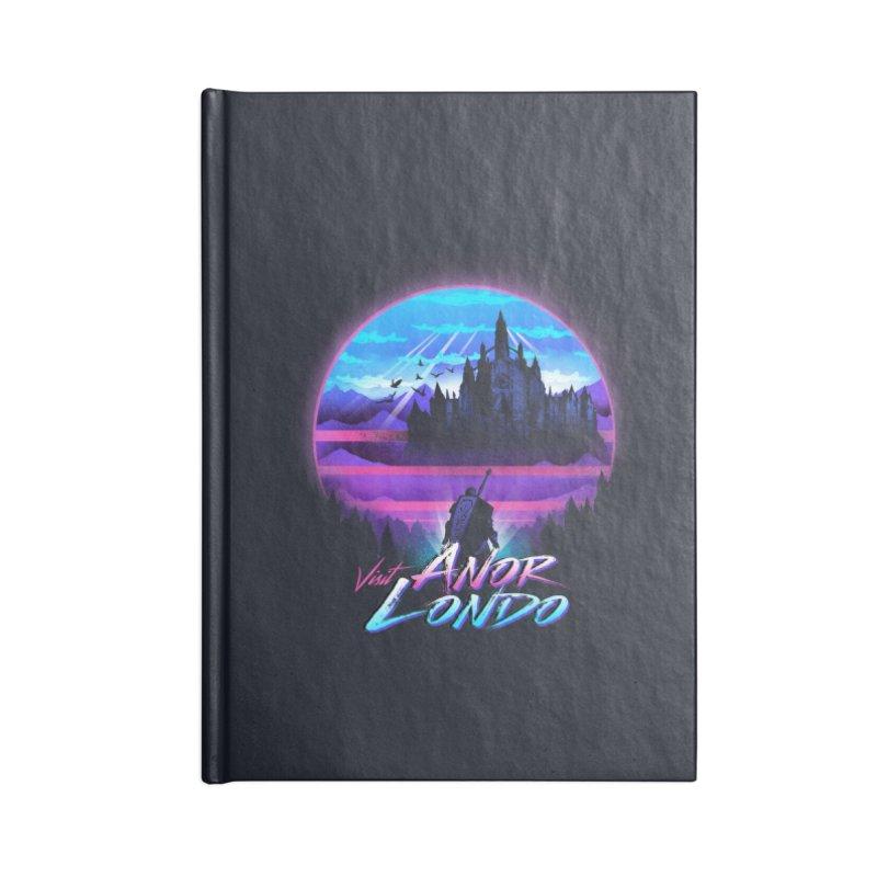 Visit Anor Londo Accessories Blank Journal Notebook by dandingeroz's Artist Shop