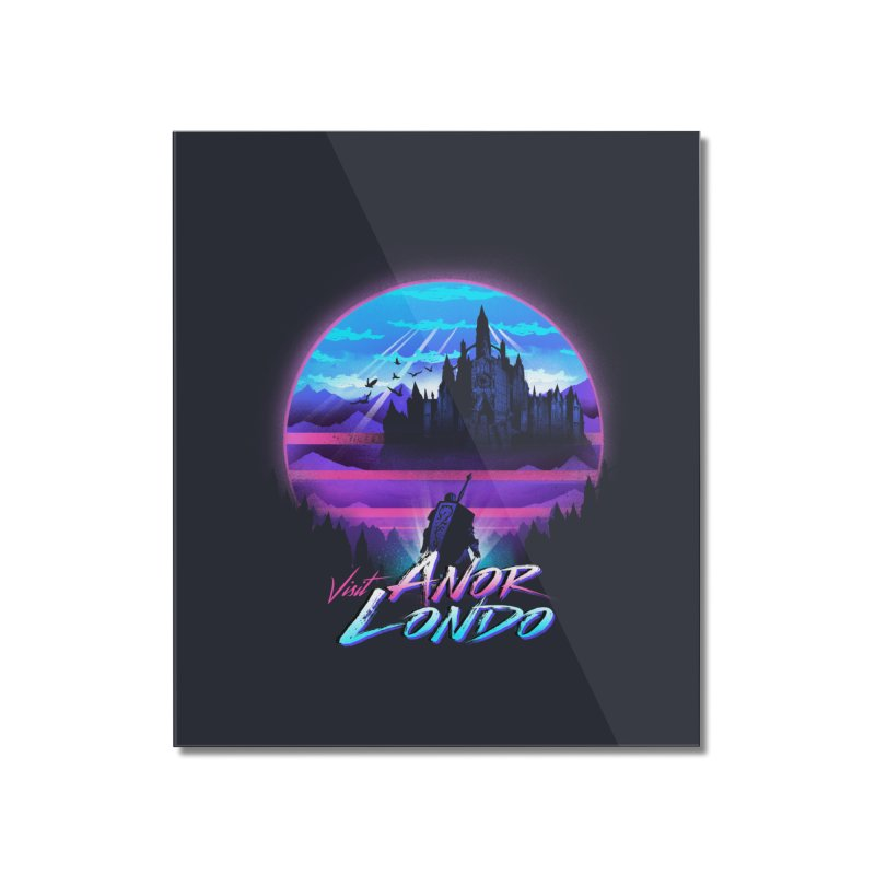Visit Anor Londo Home Mounted Acrylic Print by dandingeroz's Artist Shop