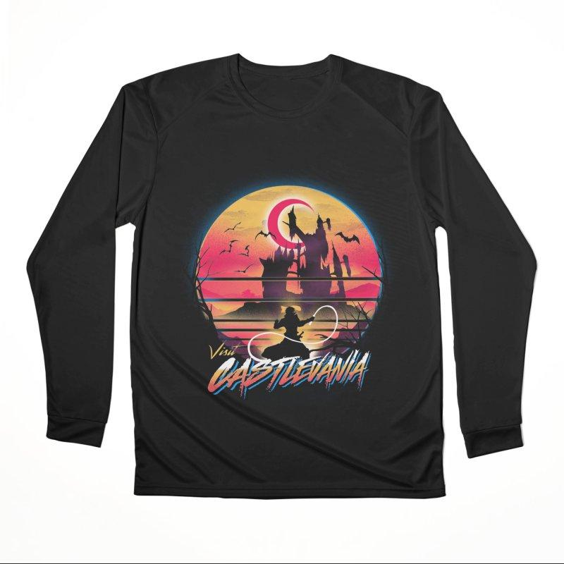 Visit Castlevania Women's Performance Unisex Longsleeve T-Shirt by dandingeroz's Artist Shop