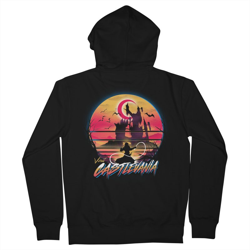 Visit Castlevania Men's French Terry Zip-Up Hoody by dandingeroz's Artist Shop