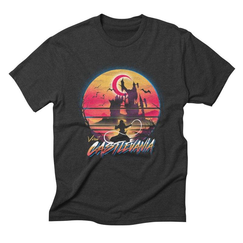Visit Castlevania Men's Triblend T-Shirt by dandingeroz's Artist Shop