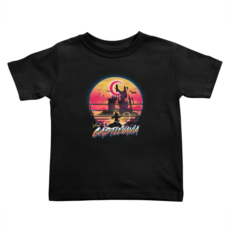 Visit Castlevania Kids Toddler T-Shirt by dandingeroz's Artist Shop